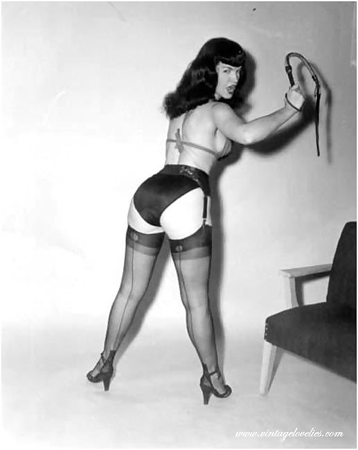 Bettie page best pinup fetish model - part 1541