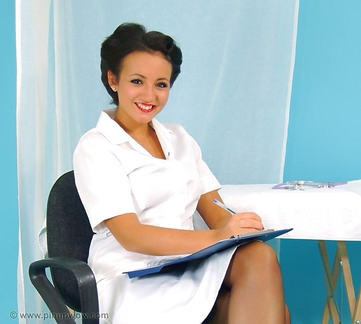 Hot nurse in stockings - part 1001