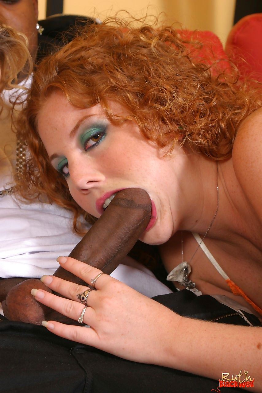Two girls with curly hair get inseminated by a black dude with a big dick