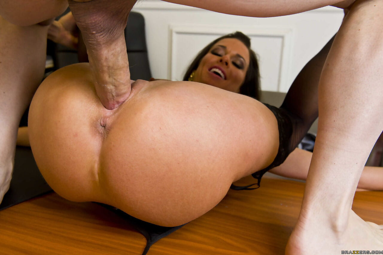 Female lawyer Veronica Avluv gets her client off by fucking the other lawyer