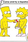 Famous toons bart and lisa simpsons orgy - part 2