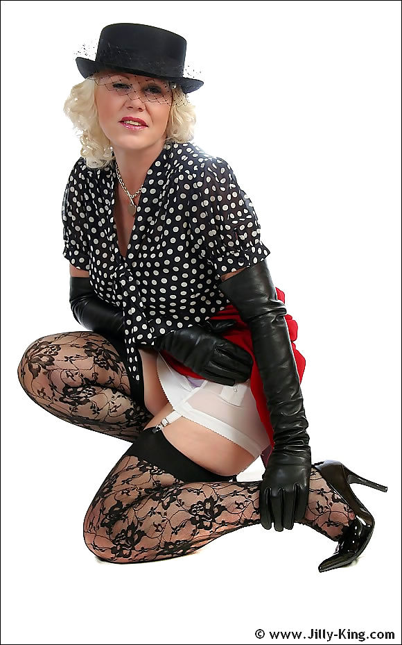 Glamour stocking mistress jilly king - part 1565