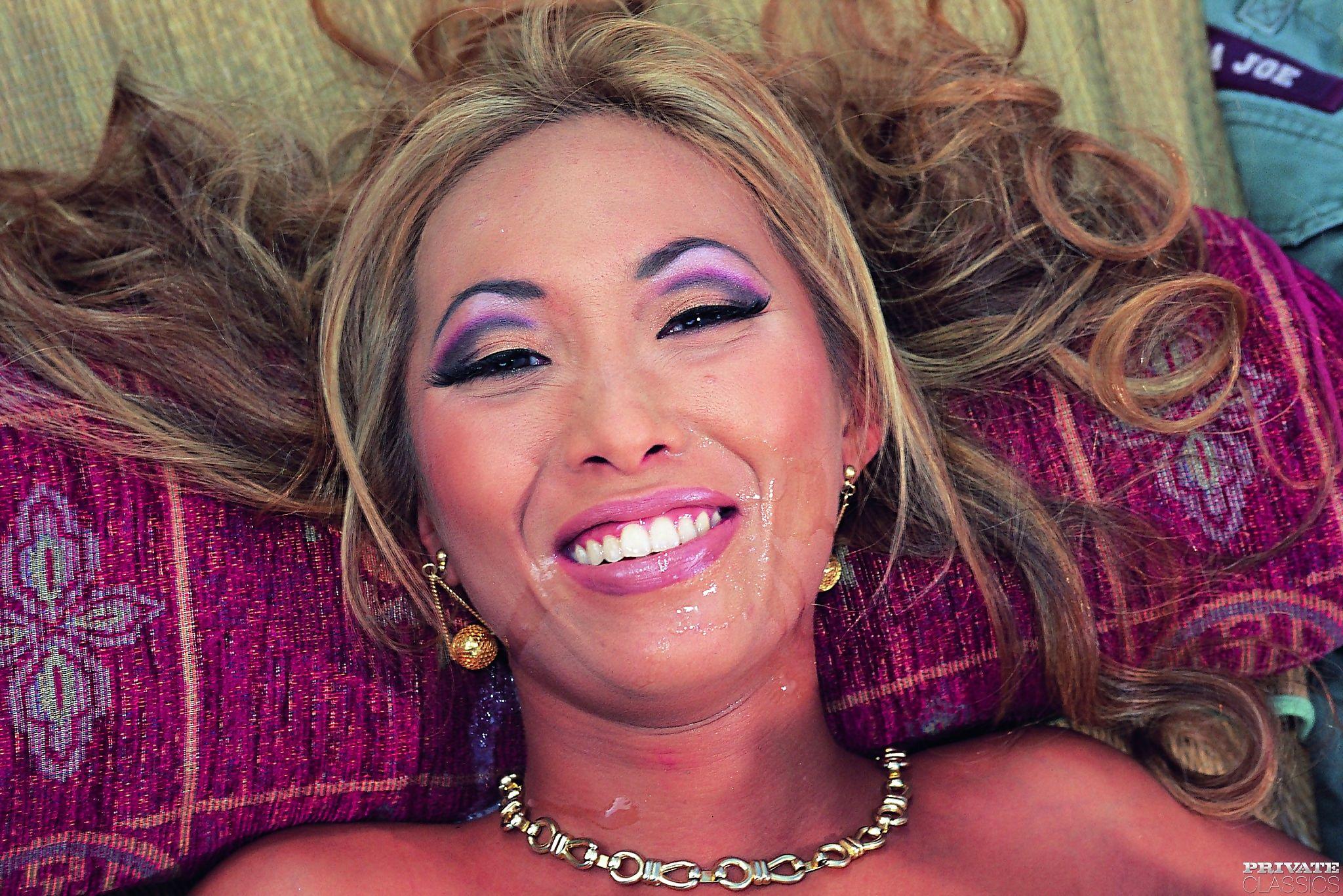 Blond Asiatisch Gets Gefickt