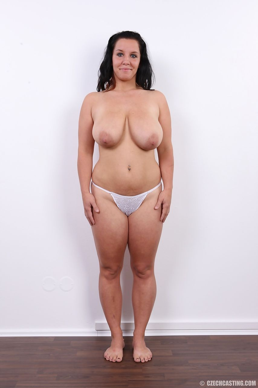 chubby brunette saggy tits